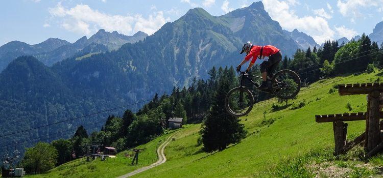 Alpentour in Au/Schoppernau und Bikepark Brandnertal