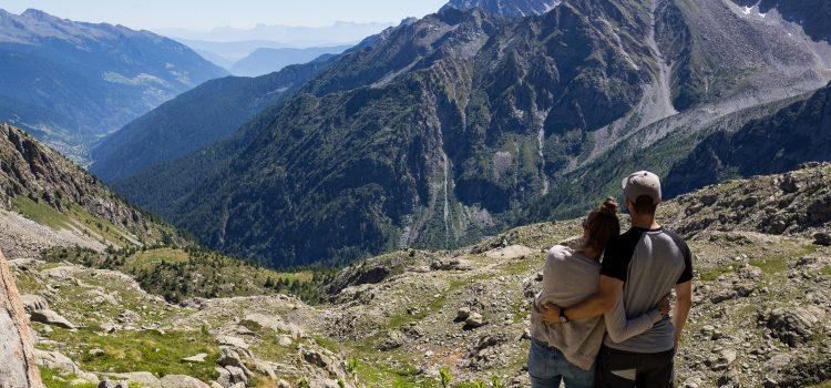 Passo del Tonale: Alpenpanorama & Gletscher