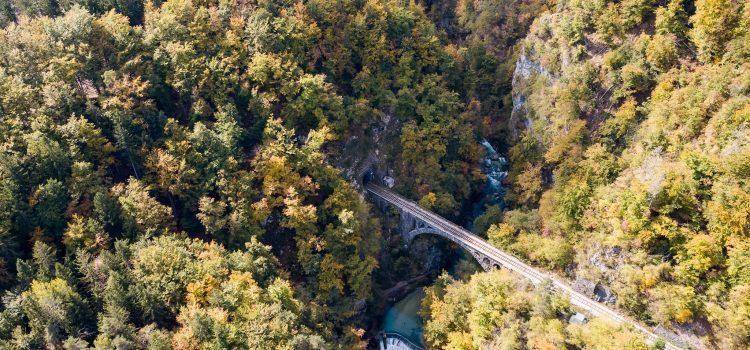 Sommerurlaub 2017: Vintgar Klamm in Slovenien