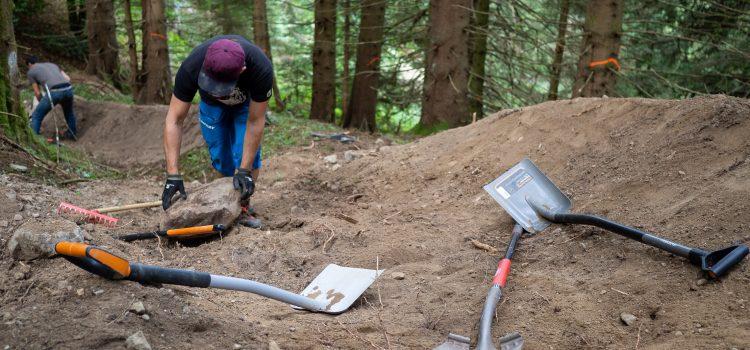 Trail Whisperer Todtnau: Ausführliche Eindrücke vom Trailbau-Wochenende