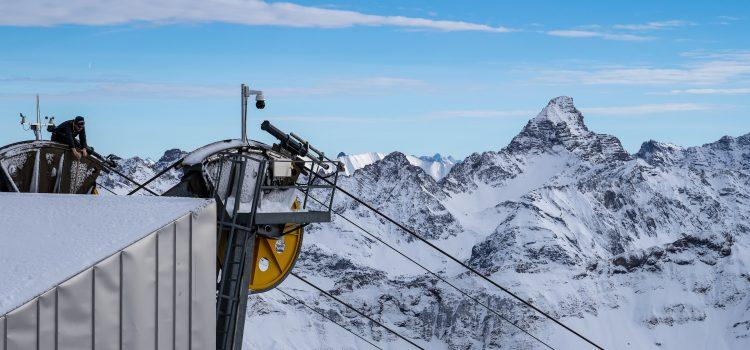 Oberstdorf: Schneespaziergang auf dem Nebelhorn