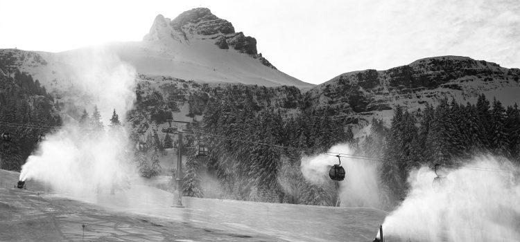 Weihnachten 2018: Skifahren in Schoppernau