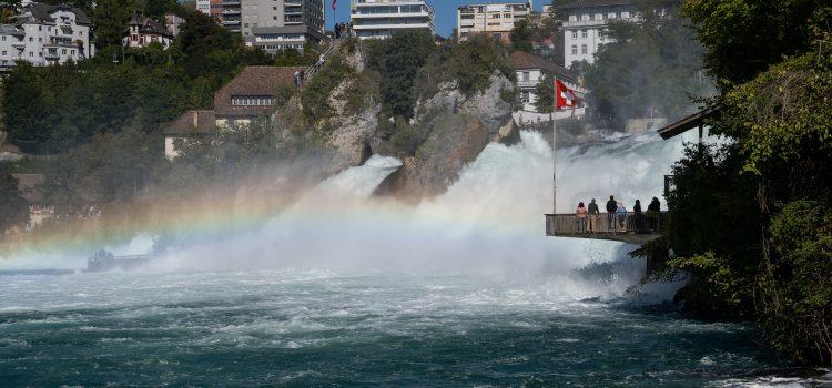 Rheinfall: Naturspektakel in der Schweiz